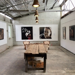 Art Gallery for filming and photoshoots with Spaces n Places location agency