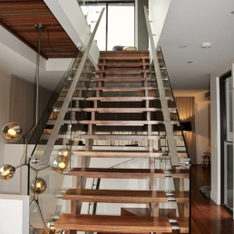 Glass Staircase - St Kilda SnP107 - Spaces n Places