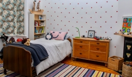 Children's Bedroom for filming and photoshoots with Spaces n Places location agency
