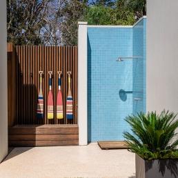 Outdoor Shower - Beaumaris SnP138 - Spaces n Places