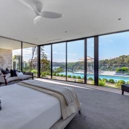 Waterfront Views - Large Bedroom -Castlecrag SnP175 - Spaces n Places