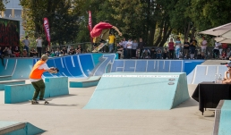 Skate park for filming and photoshoots with Spaces n Places locations agency