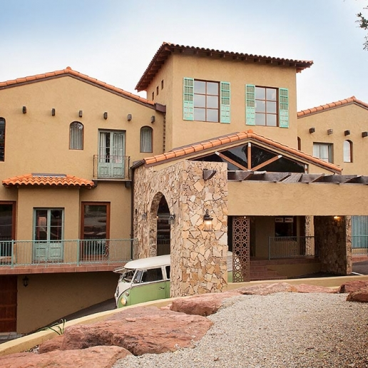 Moroccan / Santa Fe style house or photoshoots and filming with Spaces n Places location agency