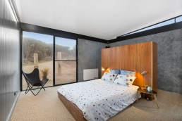 This Spaces n Places property is constructed of concrete tilt panels and steel.